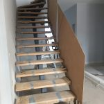 Installing Staircase Glass